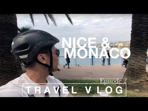TRAVEL VLOG Episode 2:  Nice & Monaco French Riviera Tour - Contiki Mediterranean Quest April 2018