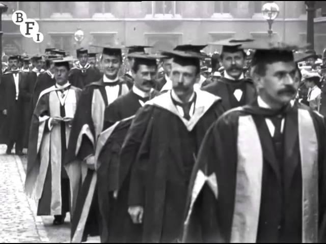 Birmingham University Procession on Degree Day (1901) – extract
