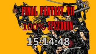 Final Fantasy VII : 100% Speedrun in 15:14:48