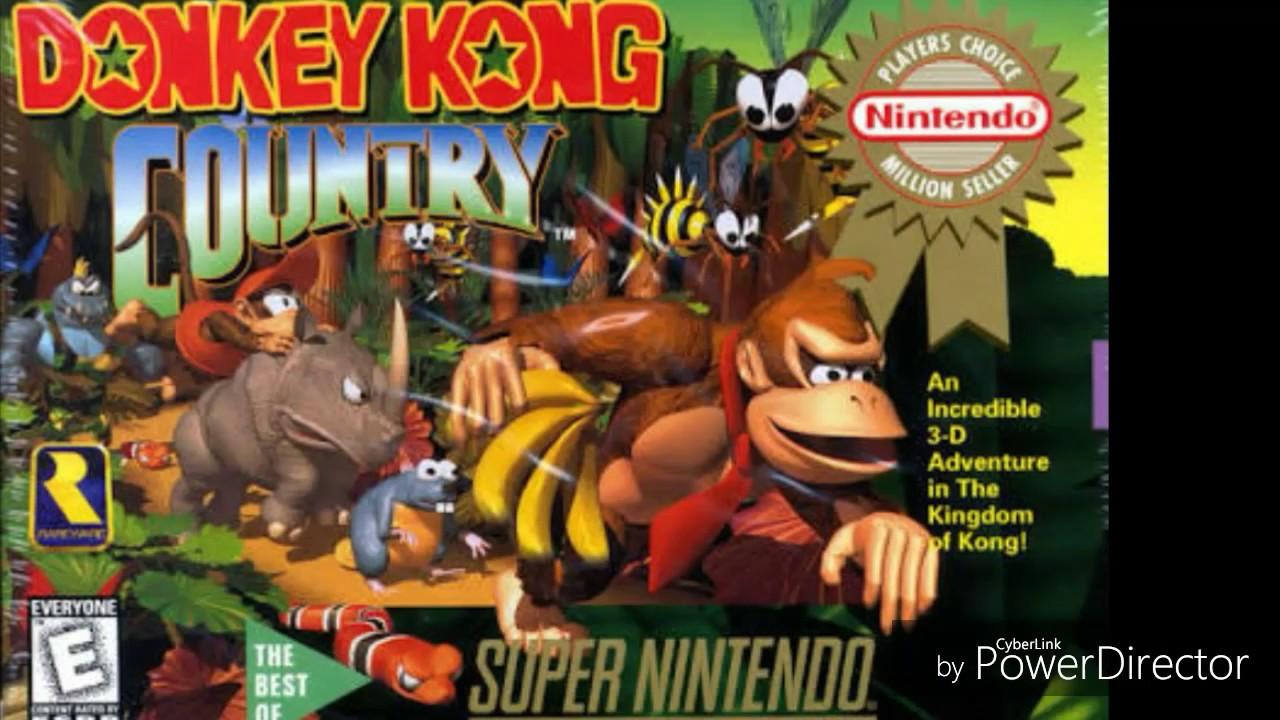 donkey kong rom snes