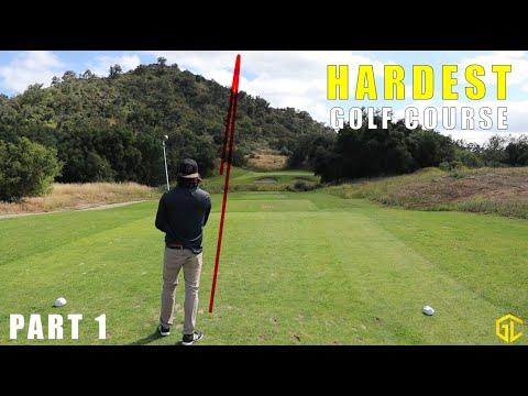 INSANELY HARD GOLF COURSE! (Cross Creek Golf Club) - Part 1