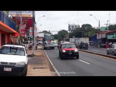 Paraguay Tourist Video Capiata Routa 2 Traffic