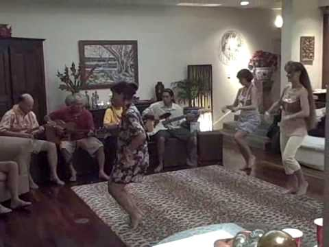 "Kualoa performs ""Uwehe, Ami & Slide"" for private party at Portlock, HI"