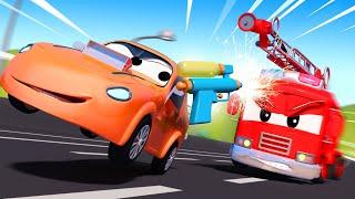 Детские мультфильмы с грузовиками Фейерверки Авто Патруль Car City World App