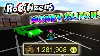 RoCitizens How to get UNLIMITED MONEY (FAST and EASY method! MAKE MILLIONS)