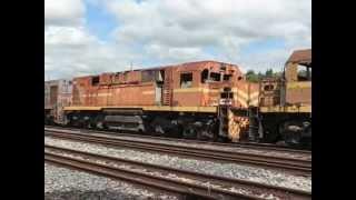 39 Locomotivas na fila da morte