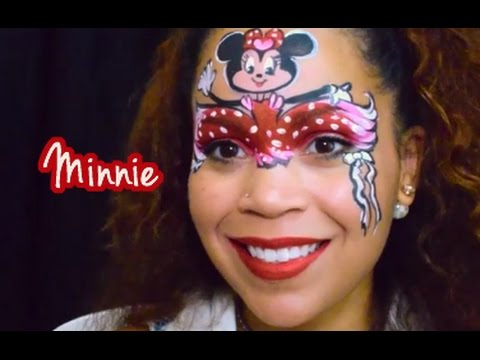 Minnie Mouse Face Painting featuring Mikim FX - YouTube