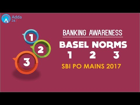 Banking Awareness | BASEL NORMS 1 2 3 | SBI PO MAINS | Online Coaching for SBI IBPS Bank PO