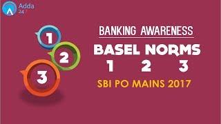 Banking Awareness | BASEL NORMS 1 2 3 | SBI PO MAINS | Online Coaching for SBI IBPS Bank PO
