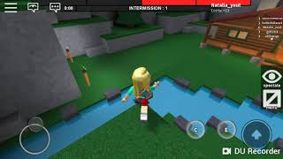 ROBLOX on Mobile playing the beast of the Marretão