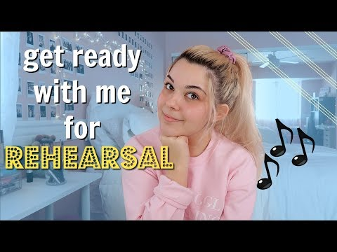 grwm for Rehearsal! // Chit-Chat about my NEW SHOW!