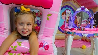 Merry Girl Pretend Play with Toys for Girls and Dress Up for a Party