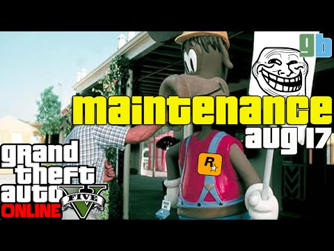 GTA Online: Rockstar Cloud Service Maintenance
