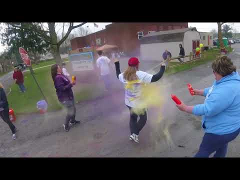 2018 EAST LIVERPOOL CHRISTIAN SCHOOL 5K COLOR RUN