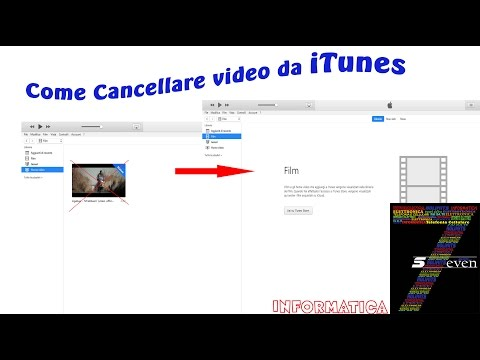 Come Cancellare video da iTunes