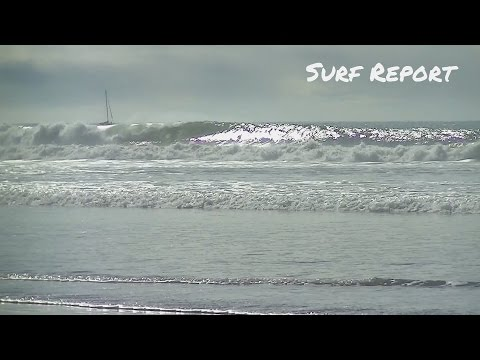 Big Waves at the Oceanside Harbor - Surf Report