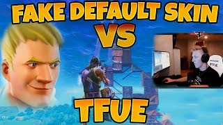FAKE DEFAULT SKIN VS TFUE Build Fight - Best Fortnite Moments & Trickshots