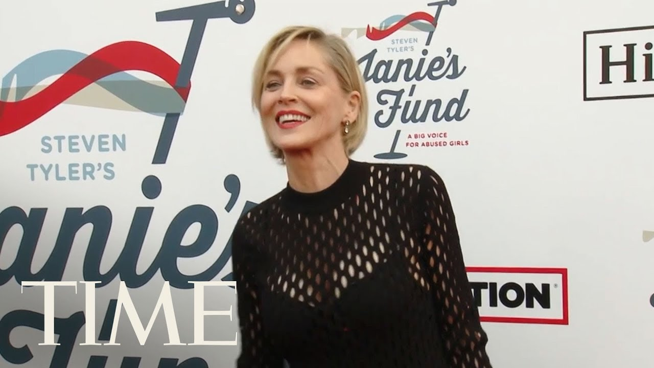 Sharon Stone Says She Had a Bumble Account