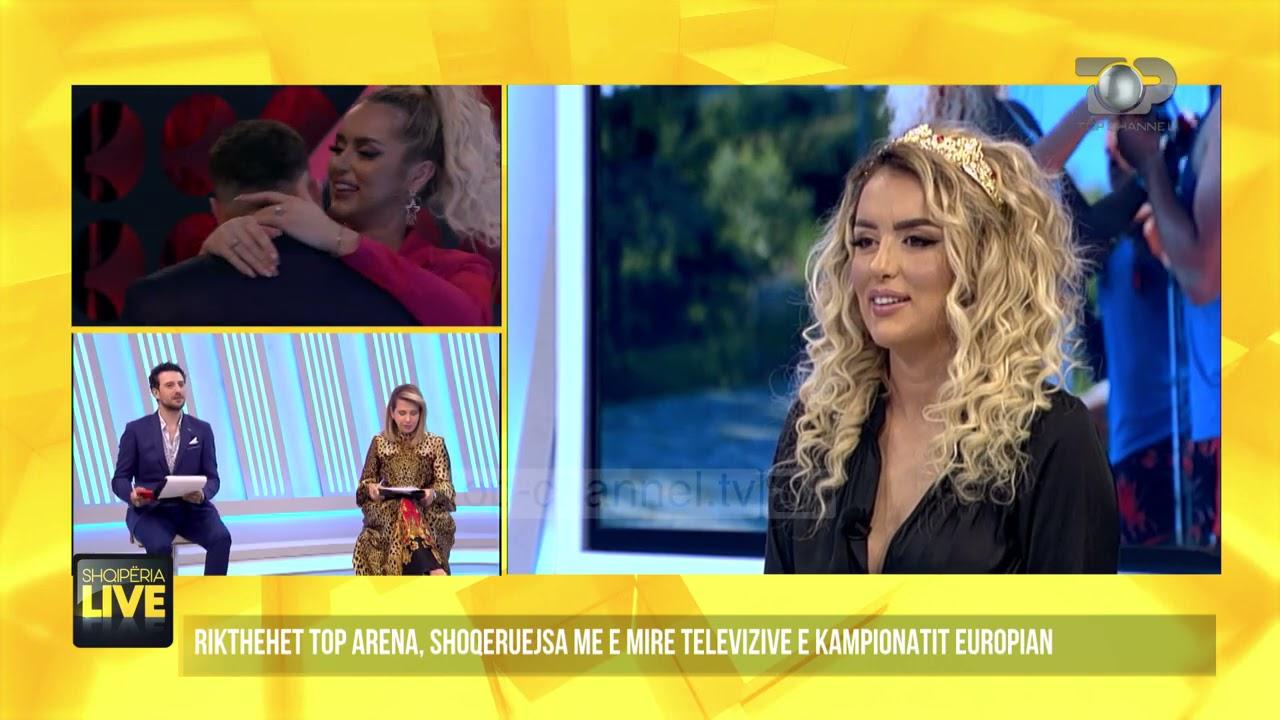 """Antonela flet për herë të parë pasi doli nga """"Për'puthen""""- Shqipëria Live 8  qershor 2021 - YouTube"""