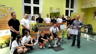 Intro - III Otwarte Integracyjne Mistrzostwa Województwa Opolskiego w Wyciskaniu Leżąc Klasycznym