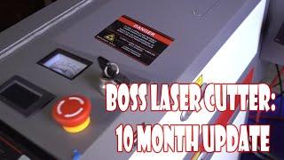 Closer Look at Boss Laser (10 month update)