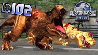 T.rex Team Brawlasaurs! || Jurassic World - The Game - Ep 102 HD