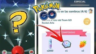 DOBLE SHINY SORPRESA y COMPLETANDO INVESTIGACIONES ESPECIALES 2 y 3 de GIOVANNI Pokémon GO [Keibron]