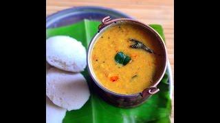Annapoorna Hotel idli Sambar Recipe - Restaurant style idli sambar Recipe