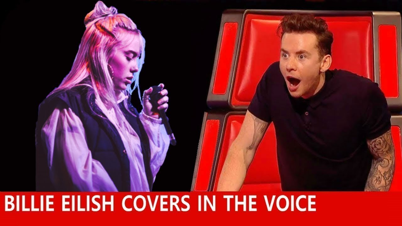BEST BILLIE EILISH Auditions in The Voice 2021 #4