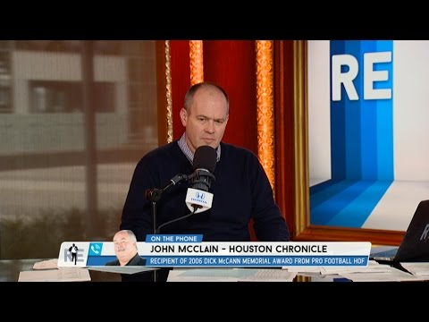 John McClain of the Houston Chronicle Talks Brock Osweiler Starting Over Tom Savage & More - 1/3/17