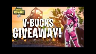 Fortnite live NL 1000 vbucks giveaway is vandaag