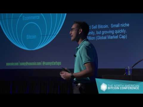 Sunny Ray - CEO At UnoCoin - The North American Bitcoin Conference 2017