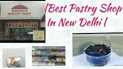 BON BON Pastry Shop  Food Vlog  NFC South Delhi 