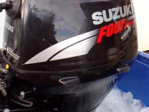 suzuki short shaft 15 hp 4 stroke - youtube