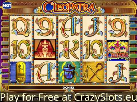 Cleopatra IGT Slots - Free online Casino game