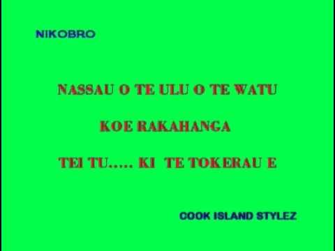 COOK ISLAND SONG - KARAOKE - 15 STARZ - ATIUNUI