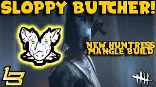 Sloppy Butcher Huntress?! (Dead by Daylight)