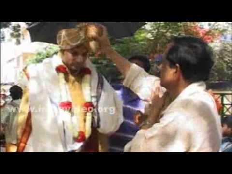 Groom enters for wedding, Orissa
