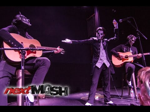 Ghost - Unholy/Unplugged live at Rough Trade in Brooklyn 2015