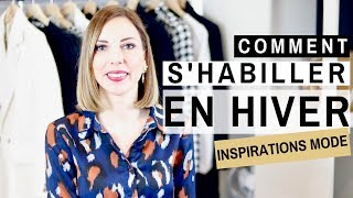 Cover images COMMENT S'HABILLER EN HIVER ? INSPIRATIONS & IDEES DE LOOKS