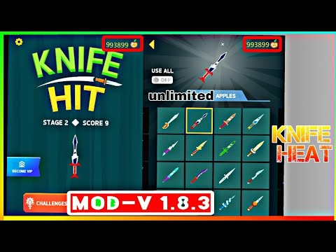 How To Download Knife Hit Mod Apk Free Shopping Mod