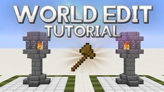 World Edit tutorial 1.12 | Descargar y funciones básicas | Español 2018 | Minecraft