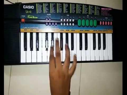 Khel mandala song on piano