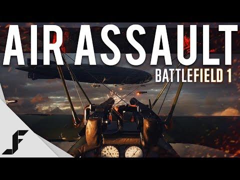 AIR ASSAULT - Battlefield 1 NEW Gamemode + Maps!