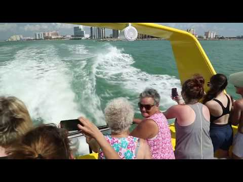 Clearwater Beach with Sea Screamer Tour
