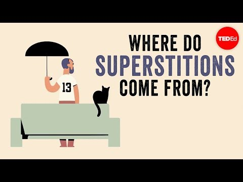 Video image: Where do superstitions come from? - Stuart Vyse