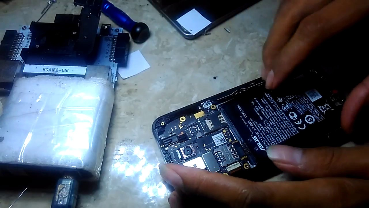 Replace Emmc Asus Z00rd Youtube