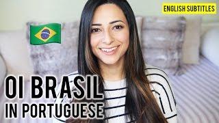 Baixar EU FALO PORTUGUÊS: My First Video in Portuguese | Ysis Lorenna