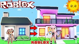 🤑 OF POBRE A RICO IN ADOPT I HAVE A NEW MANSION🤑- ROBLOX