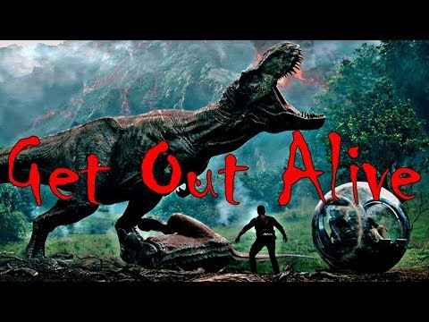 Jurassic World || Get out alive || [WARNING: Flashing Lights]